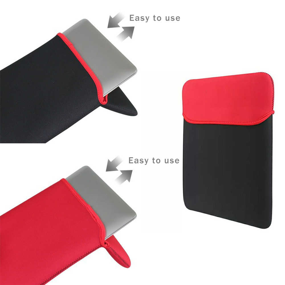 """Tablet Carrying Sleeve Case Bag For Ipad 7/8/9/9.7/10/12/13/14/15"""" Bag Cover for MacBook Ultrabook Notebook tablets Portable"""