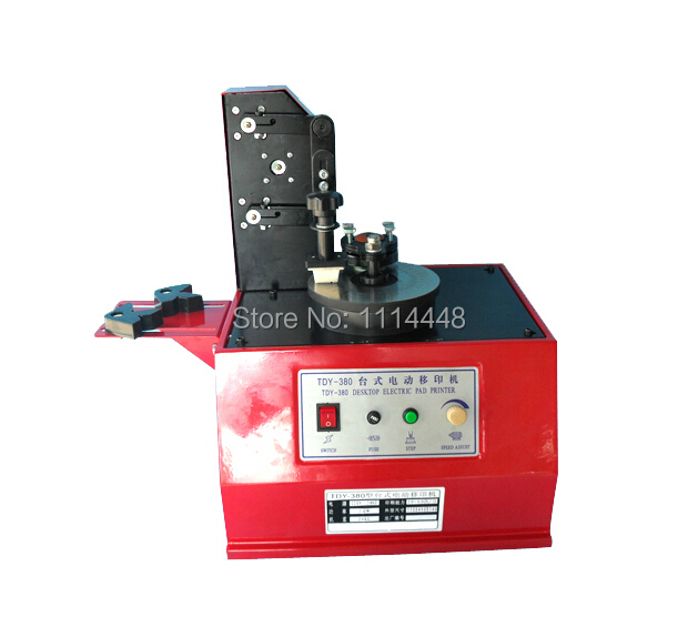 High quality Electric Pad Printer Date Coding Machine Logo Printing Machine Production Printing Machine TDY-380
