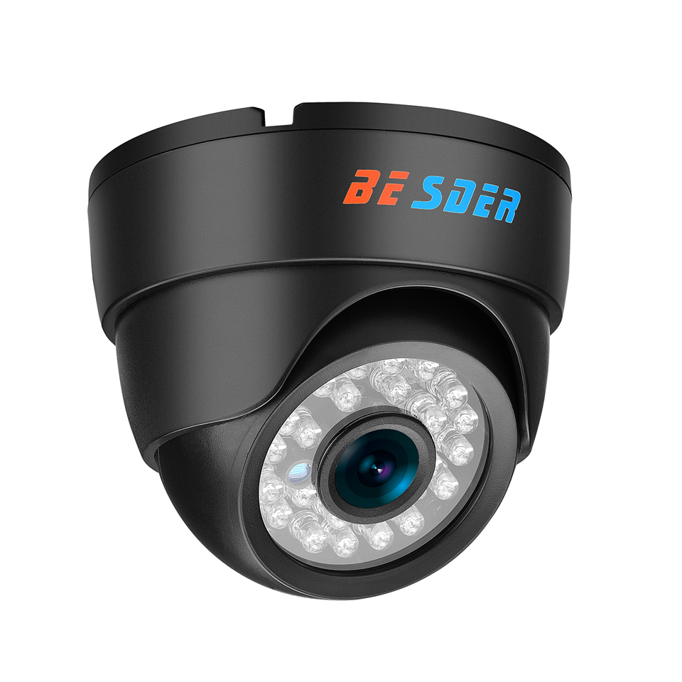 BESDER Wide Angle HD 720P 960P 1080P Wire Wireless IP Camera P2P Email Alarm Home Security