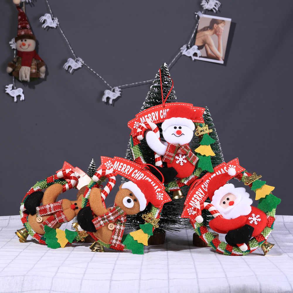 Рождественские украшения Рождественская елка подарок фетровые подвесные