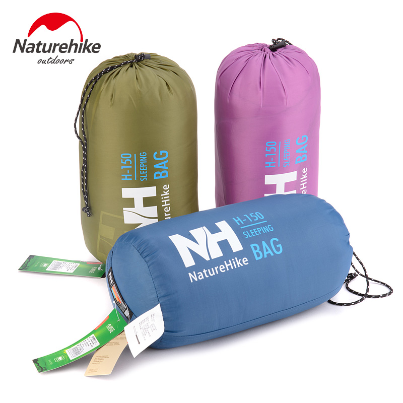 Naturehike Multifuntional Outdoor Ultralight Portable Envelope Cotton Sleeping Bag Camping Sleeping Bag Outdoor Camping Travel