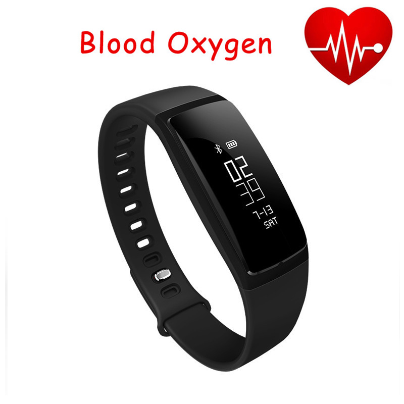 Smart Blood Pressure Bracelet Wristband Heart Rate Monitor SmartBand Wireless Fitness Watch Track For iPhone Android