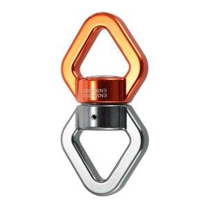 Image 1 - Lixada Seil Swivel 30kN Seil Swivel Anschluss Seil Swivel Versiegelt Lager Rettungs Klettern Seil Wirbel Fitness Ausrüstung