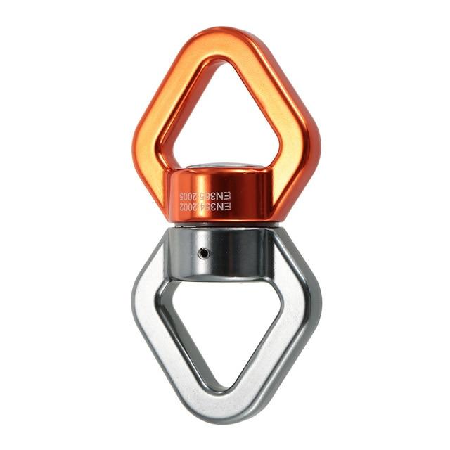 Lixada corde pivotante 30kN corde connecteur pivotant corde pivotant scellé portant sauvetage corde descalade pivote équipement de Fitness