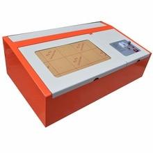 40 Вт CO2 USB лазерный гравировальный станок для резки 300×200 мм деревянные рабочие изделия лучшие