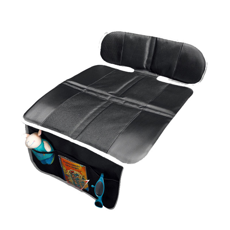 1pc Car Seat Covers Pad Child Kid Protective Pad Anti-slip Mat Cushion With Organizer For Toys Food ...