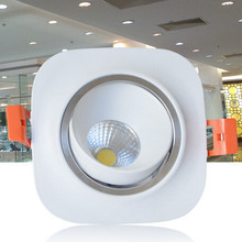 Wholesale price Dimmable 10W COB Led Downlight  Recessed Down Light Ceiling Bedroom Led Lamp LED light CE/ROHS AC85-265V цена 2017