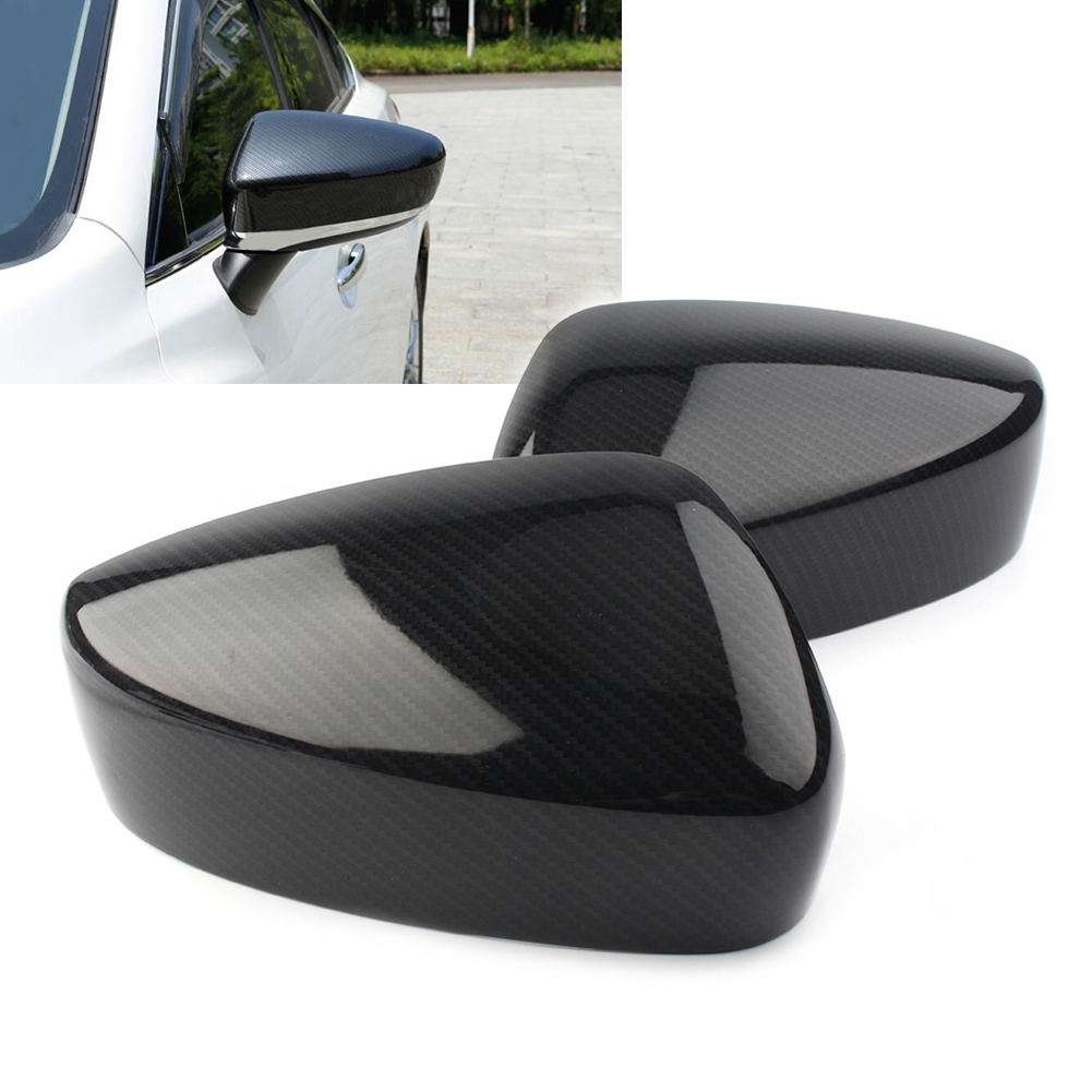 2pcs ABS Plastic Auto Car Rearvier <font><b>Rear</b></font> <font><b>View</b></font> Side <font><b>Mirror</b></font> Cover Trim For <font><b>Mazda</b></font> 6 Atenza 2018 & For <font><b>Mazda</b></font> <font><b>3</b></font> Axela 2017 image