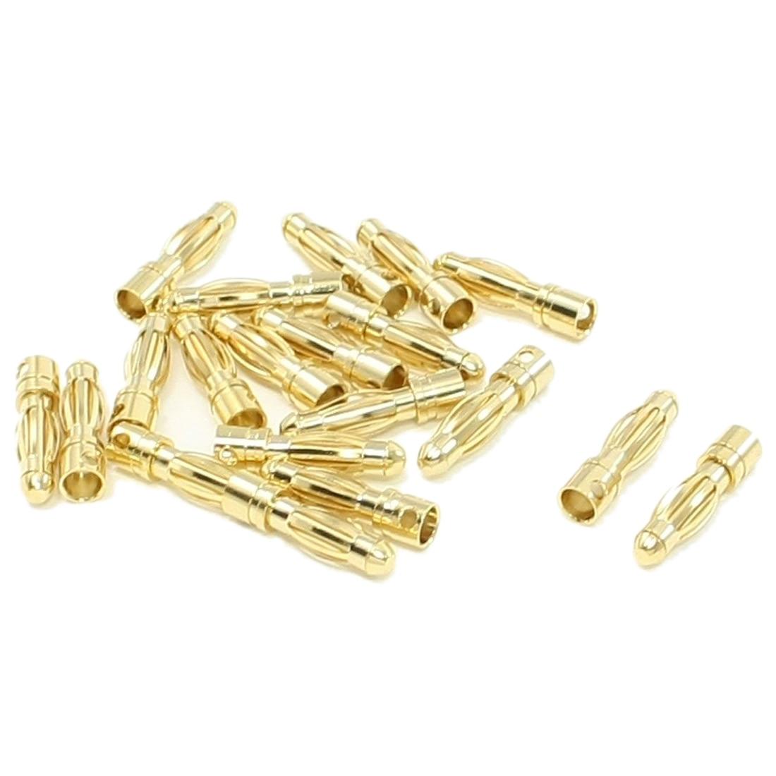 Promosyon! 20 adet RC Model Pil Erkek Muz Bullet Connector Plug 4mmPromosyon! 20 adet RC Model Pil Erkek Muz Bullet Connector Plug 4mm