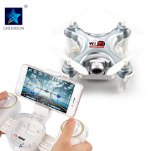 cheerson RC Mini Drone With Digital camera Cheerson CX-10WD CX-10WD-TX Quadrocopter FPV Wifi Distant Management Helicopter