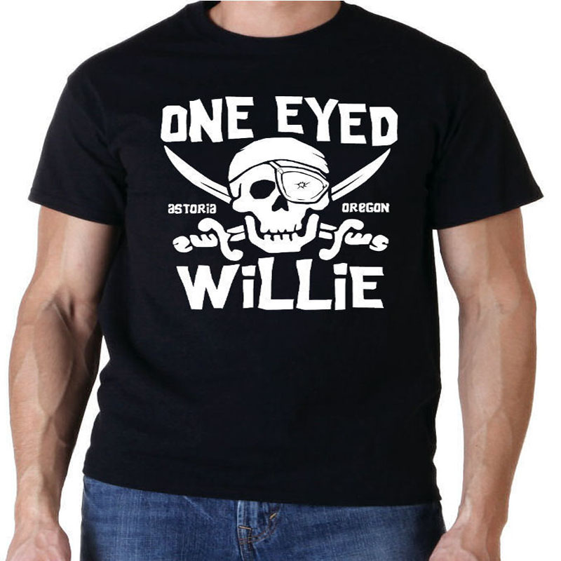 GOONIES ONE EYED WILLIE CULT 80S MOVIE T SHIRT