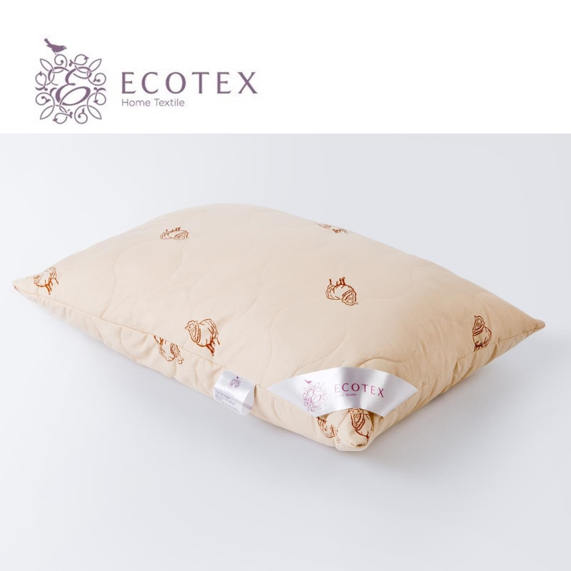 Pillow Golden fleece collection Premium. 50X70. Production company Ecotex(Russia). pillow argo collection premium production company ecotex russia