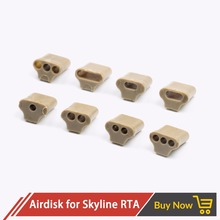 البركان Airdisk MTL Skydisks أداة مع 10 خيارات مختلفة ل CopperVape نسخة أفق هيئة الطرق والمواصلات E السجائر Vape