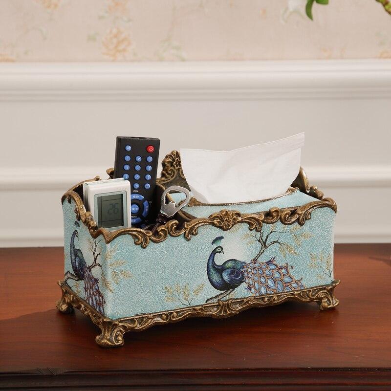 Американский бумажный ящик для полотенец многофункциональный пульт дистанционного управления коробка для гостиной стол ювелирные украше