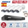 ANNKE 4CH PoE NVR CCTV System 4pcs 1 3MP Ip Camera Video Security Surveillance System PoE