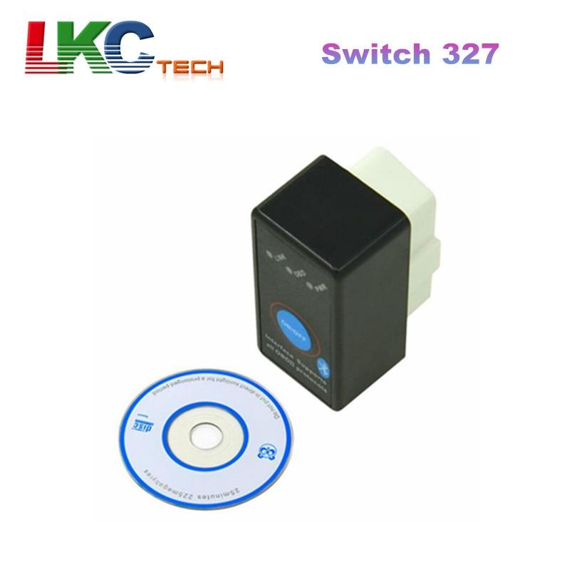2018 Top Selling ELM327 Switch V1.5 MINI ELM327 OBD2 Diagnostic Interface OBDII Scanner for Android Torque Car Code Scanner