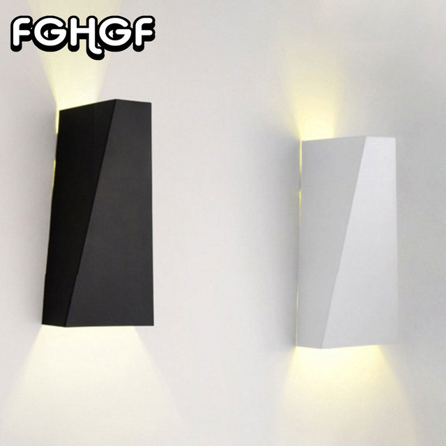 Fghgf Moderne Led Wandleuchten Up Down Led Wandleuchte Cube Indoor