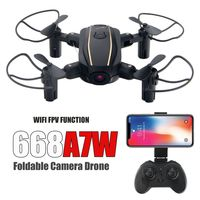 Folding RC Drone HD Camera Quadcopter with 2.4G Wifi FPV Altitude Hold Headless Mode Drone Gifts for Boy