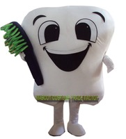 Brand New Tooth Mascot Costume Party Costumes Fancy Dental Care Character Mascot Dress Amusement Park Outfit