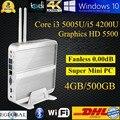 Soc projeto Haswell Broadwell 5005U computador jogo com processador Intel Core i5 4200U i3 4 G Ram 500 G HDD 1.6 GHz MINI PC HTPC 300 M Wifi HDMI