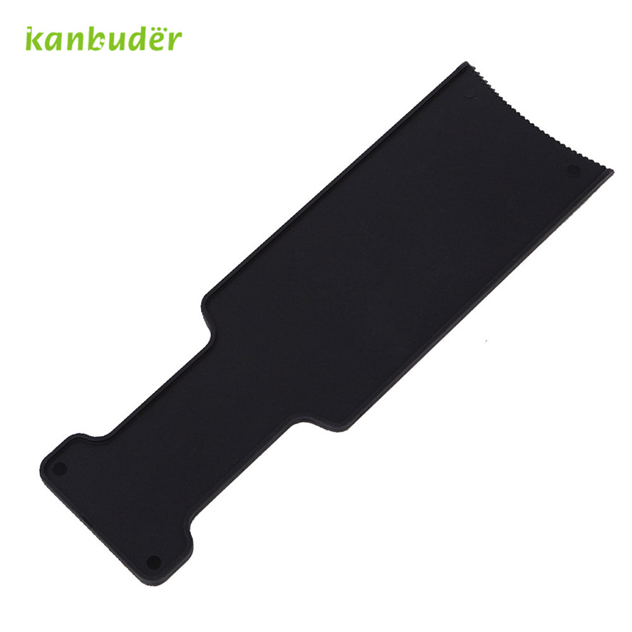 New kanbuder 1PC Professional Fashion Hairdressing Professional Hairdressing Pick Color Board Pretty Women's Dye Hair Brush