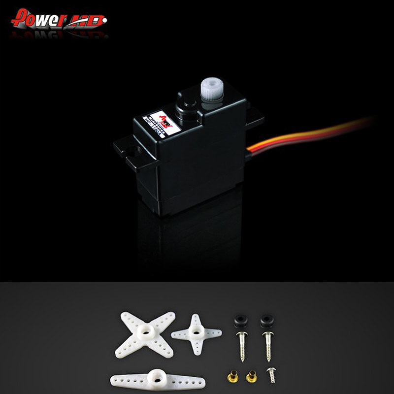 1set 100 original Power HD HD 1160A Mini Size High Torque Servo 16G 2 7KG Free