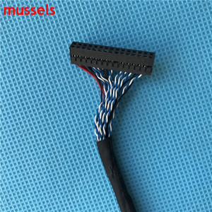 Image 3 - Per il Pannello di Controllo LCD Doppia 8 bit di Interfaccia Wire FIX D8 30pin LVDS Cavo Trasporto Libero 1 pezzi