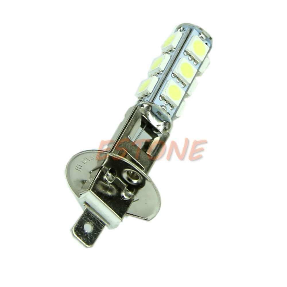 HOT 1Pc Car Vehicle H1 White 5050 SMD 13 LED Head Fog Light Lamp Bulb