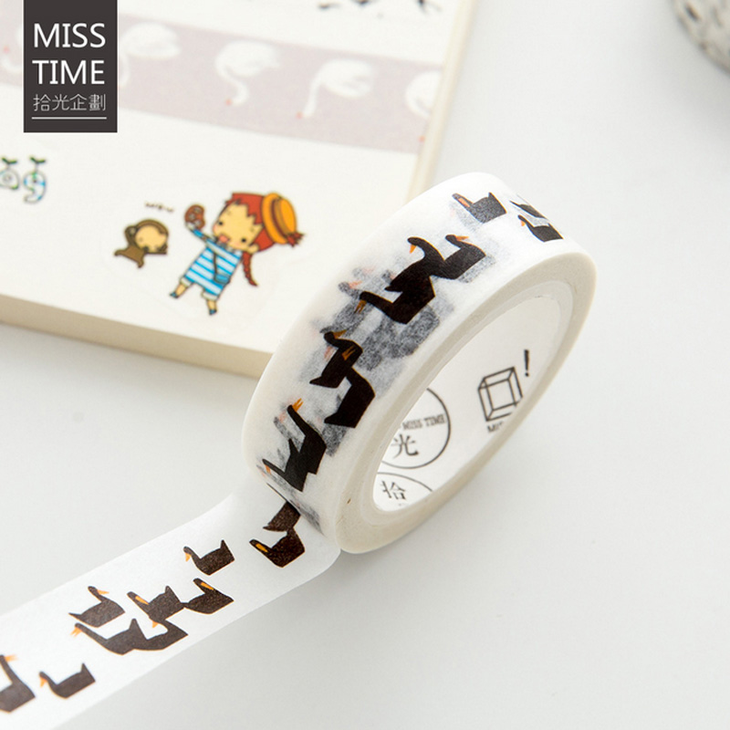 1.5cm*7m Vintage Forests of Finland washi tape diy decoration for scrapbooking masking tape adhesive tape kawaii stationery
