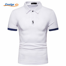 Covrlge Brand New Mens Polo Shirt High Quality Men Cotton Short Sleeve Brands Jerseys Summer Shirts MTP122