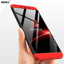 hot deal buy idools case for xiaomi redmi 6a 6 a cover high quality 3 in 1 armor full protection phone bags cases for xiaomi redmi 6a redmi6a