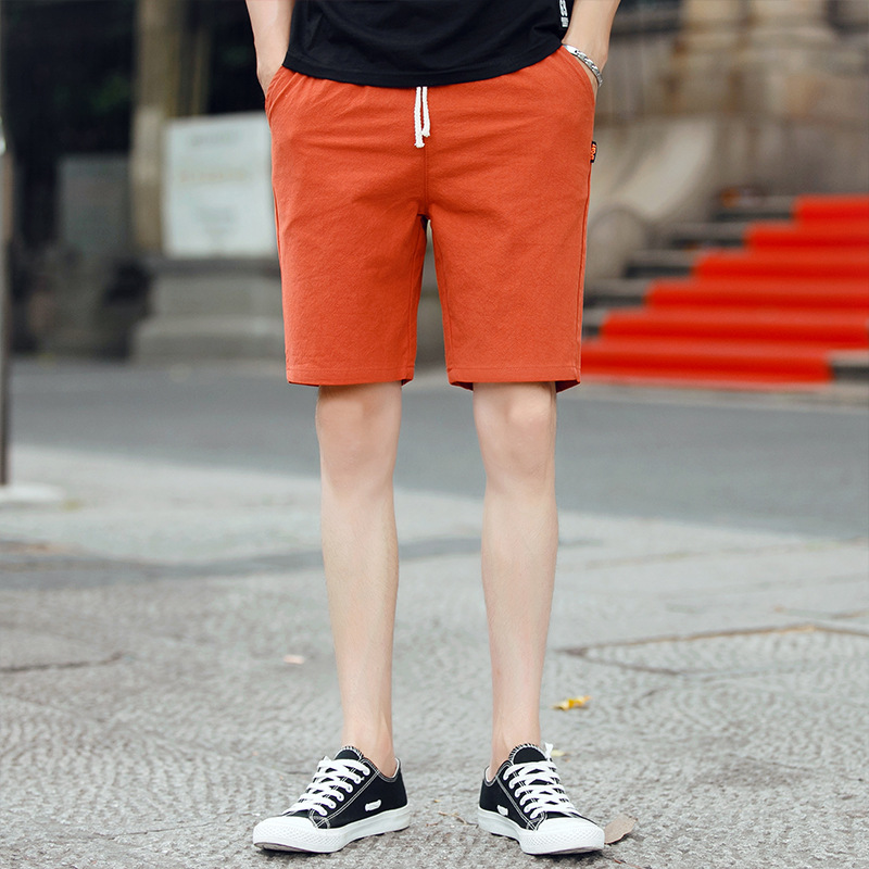 Men's Casual Shorts Classic Drawstring Elasticated Waist Summer Beach Shorts