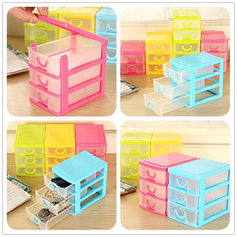 Colorful Mini Desk Drawer Storage