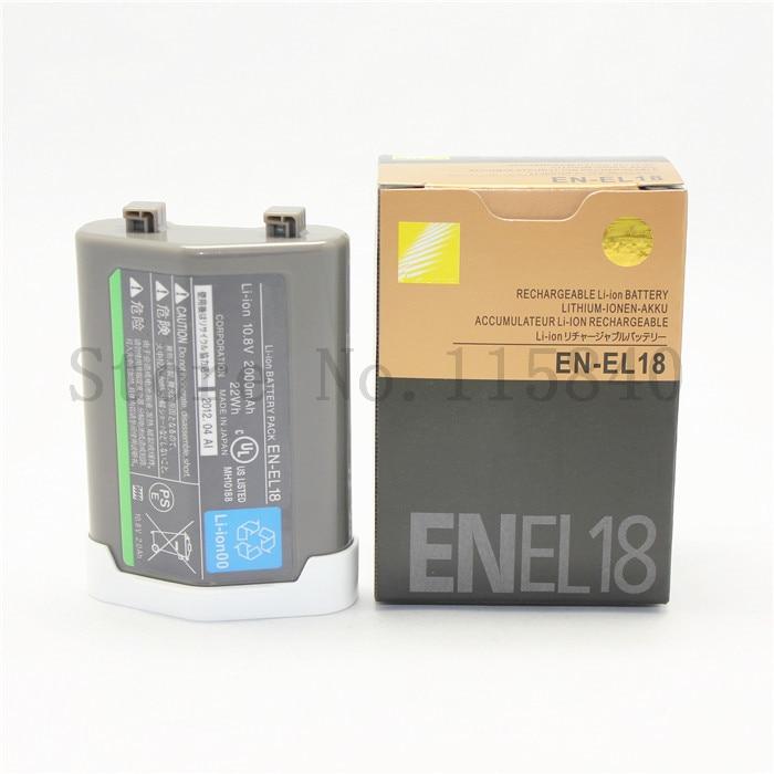 EN EL18 ENEL18 EN EL18 lithium batteries pack Digital camera battery For Nikon D5 D4 D4S