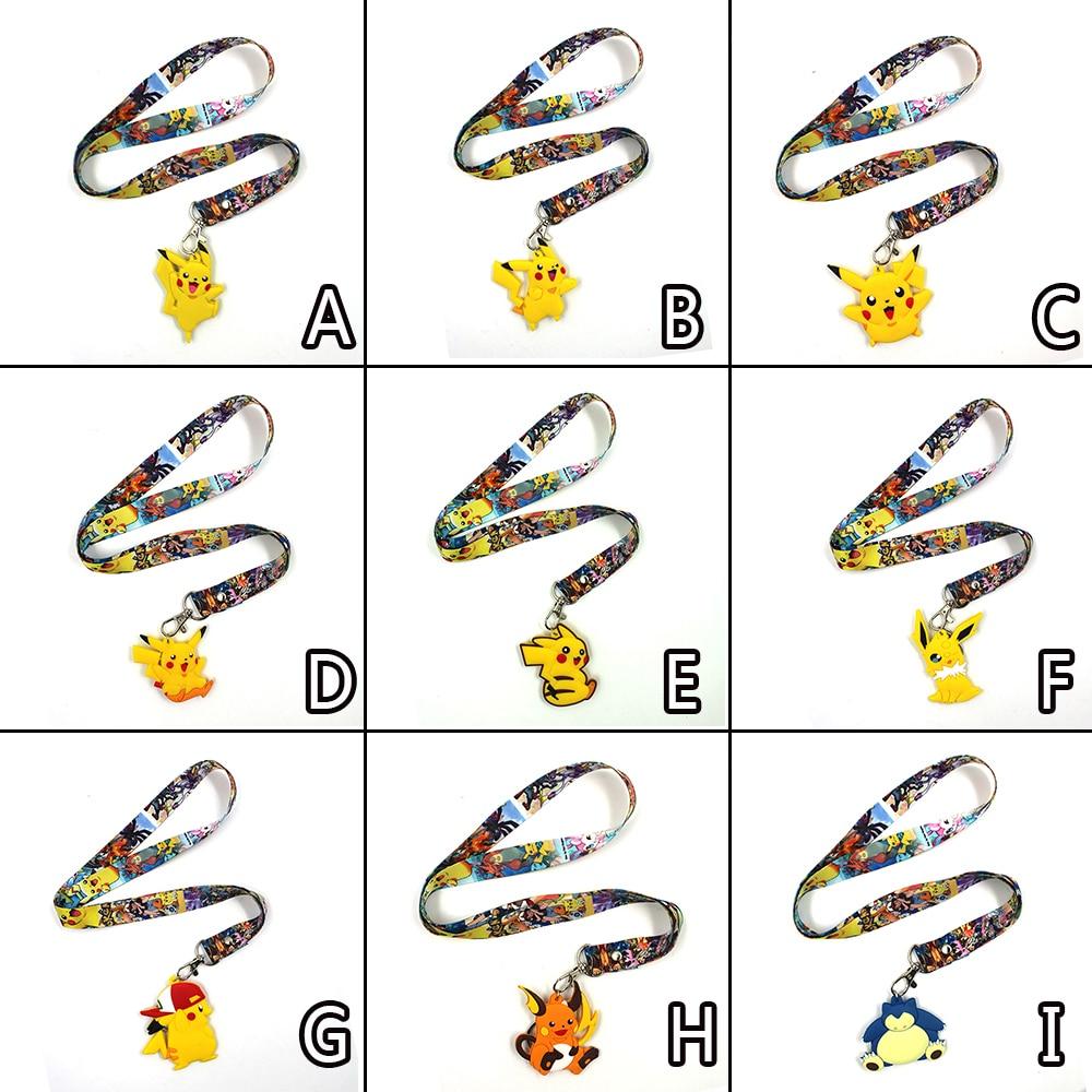 pocket-monster-font-b-pokemon-b-font-pikachu-snorlax-squirtle-bulbasaur-flareon-moltres-pvc-pendant-keychain-phone-rope-strap-lariat-lanyard