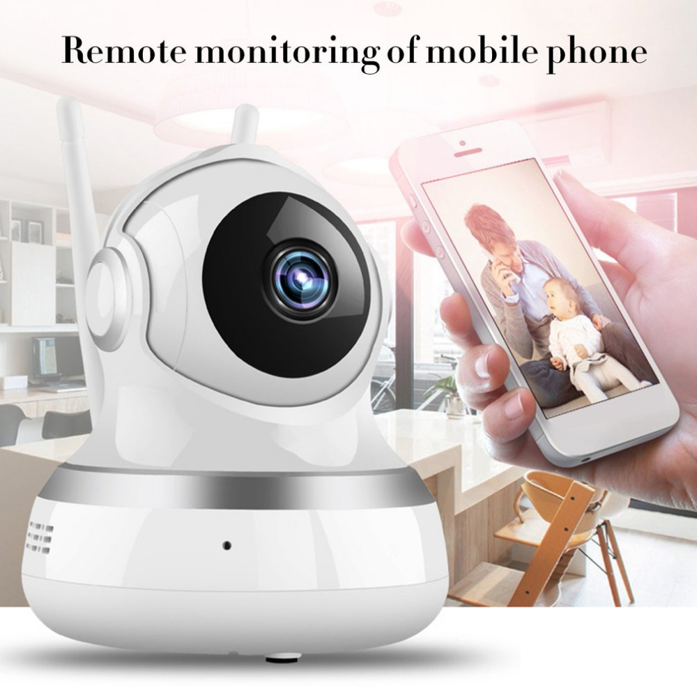1080P Wireless Intelligent Monitor Home Security HD IP Camera With LED Smart WiFi Audio CCTV Baby Monitor Camera Dual-Aerials