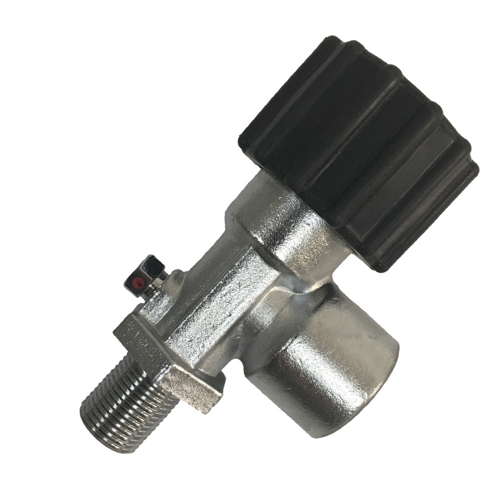 AC910Valve For Carbon Fiber Cylinder Scuba Diving Tank30Mpa 4500psi PCP Paintball Tank  ON/OFF With M18*1.5 Male Thread Acecare