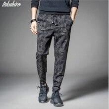 Men's Casual Leisure black camouflage military joggers slim fit pants men pantalons harem pants sweatpants men pantalon homme