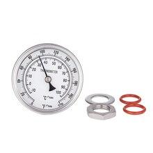 """3"""" аналоговый термометр для бара(длинной 2"""",0 220 градусов,нержавеющая сталь)"""