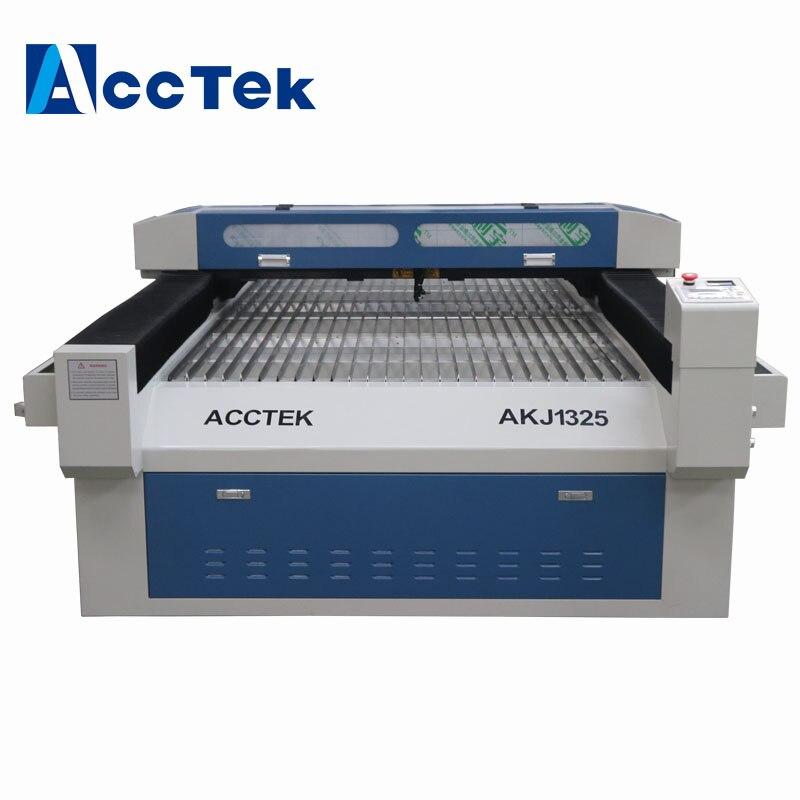1325 bois tissu plexiglas acrylique co2 CNC laser découpe machine de gravure faite en chine