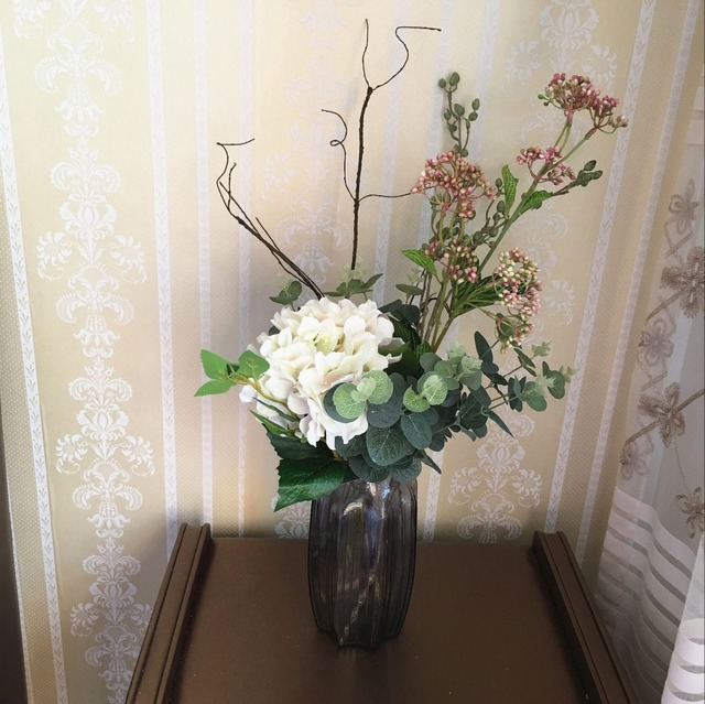 MIN.order 5$ Mori style flower bouquet eucalyptus dried branch ...