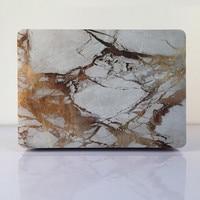 Marmer Full Body Vinyl Skin Cover Laptop Deca Case voor Apple Macbook Air Pro Retina 11 12 13 15 Inch Beschermende Huid Case Shell