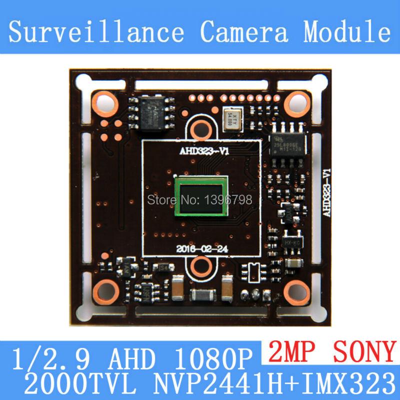 где купить 2MP1920*1080 AHD CCTV 1080P Camera Module Circuit Board,1/2.7 CMOS NVP2441+SONY IMX323 2000TVL PCB Board PAL / NTSC Optional по лучшей цене