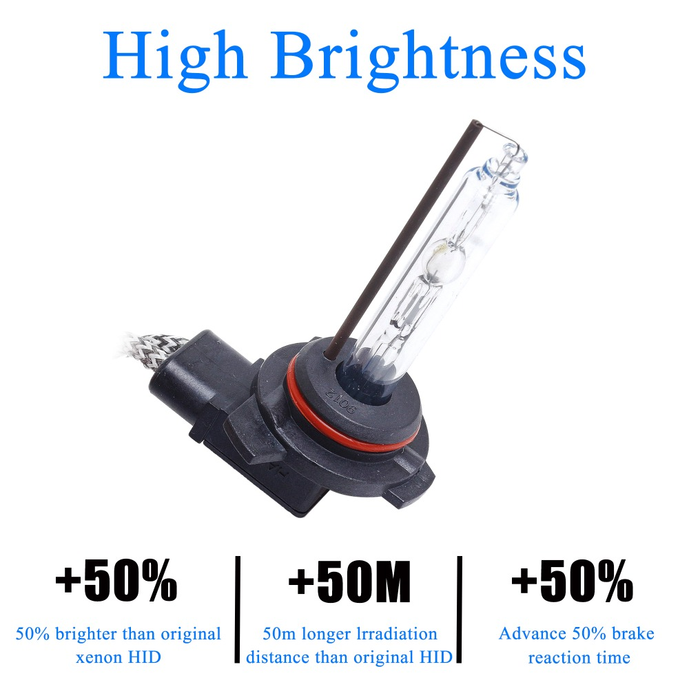 100 Original Super Bright Fast Start 2 pcs 55W 9012 HIR2 HID Xenon Head font b