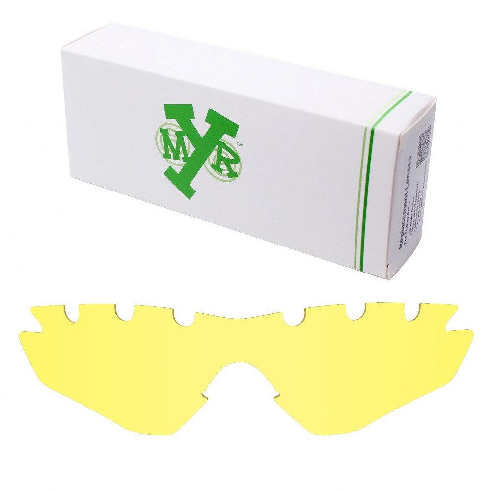 Mryok Remplacement Lentilles pour Oakley M2 Cadre Ventilé lunettes de Soleil  HD Jaune 2db431de975d