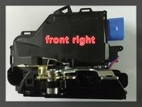FRONT RIGHT FOR VW GOLF V JETTA CENTRAL DOOR LOCKS MECHANISM 9 PIN 3D1837016A 3D1837016AB 3D1837016 3D1837016AP 3D1837016AC
