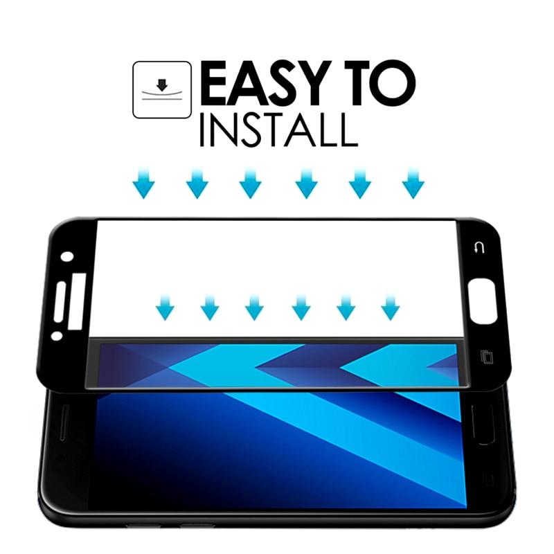Samsung Galaxy J2 J5 J7 Prime 9H ekran qoruyucu üçün Galaxy Cover - Cib telefonu aksesuarları və hissələri - Fotoqrafiya 5