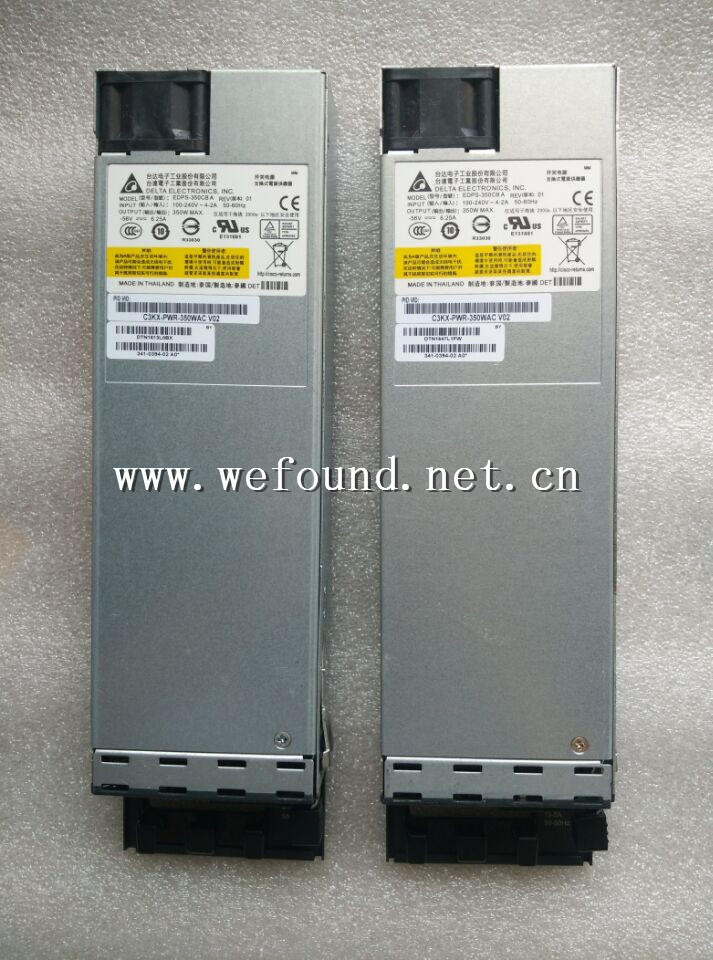 High quality perfect work power supply For C3KX-PWR-350WAC 341-0394-01 3750X 3560X EDPS-350CB A power supply ,Fully tested. 100% working power supply for aa23300 1850 jd090 550w fully tested