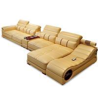 Moderno Para Meble Puff Asiento Koltuk Takimi Mobili Copridivano Leather De Sala Set Living Room Furniture Mobilya Mueble Sofa
