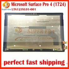 new Original LCD Assembly For Microsoft Surface Pro 4 (1724) LTN123YL01-001 LCD Display touch screen digitizer replacement panel